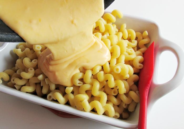 Creamy Cheese on Pasta