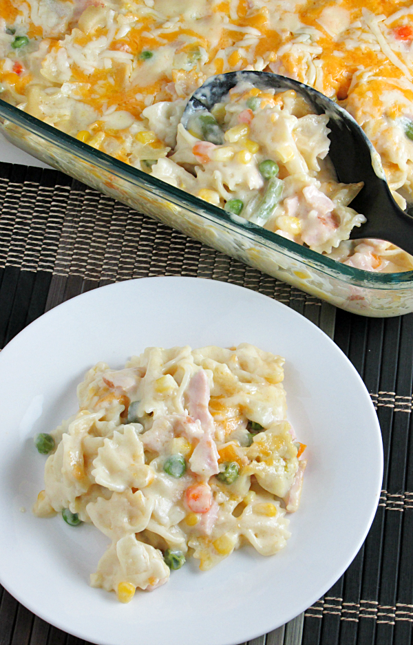 Creamy Turkey & Noodles is sure to be a new family favorite! Easy and delicious!