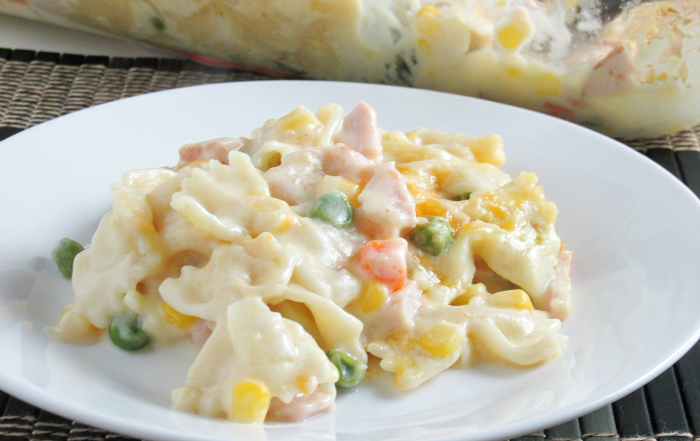 Creamy Turkey and Noodle Casserole