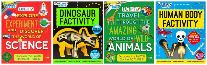 Discovery Kids Factivity Books