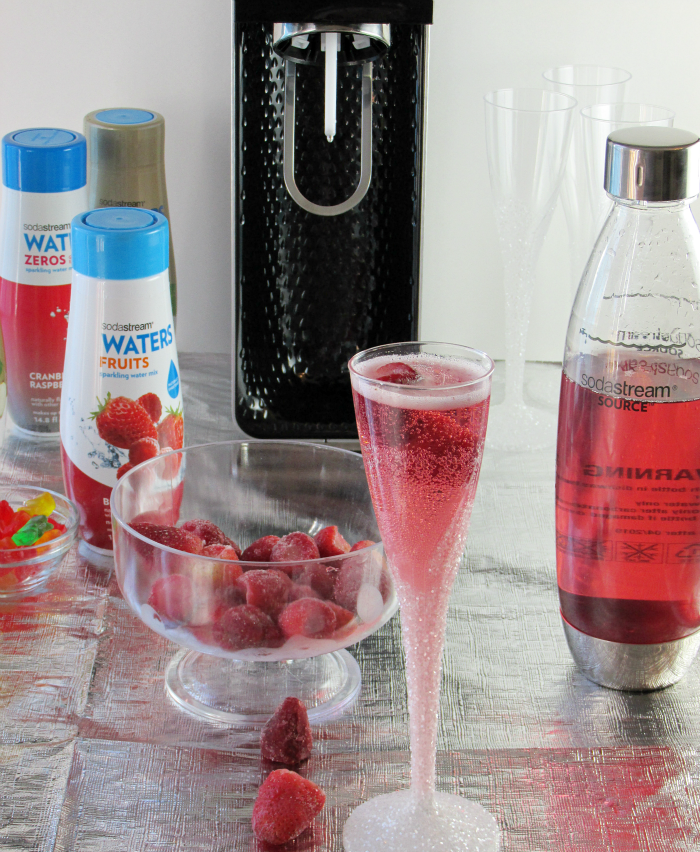 Fizzy Berry Punch with SodaStream