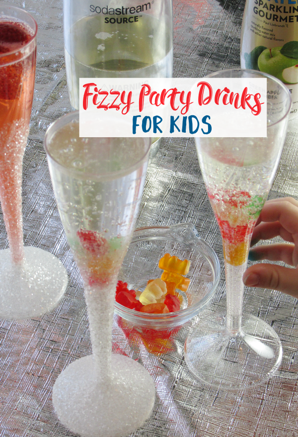 Fizzy Party Drinks For Kids The Shirley Journey