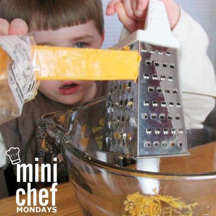 Grating Cheese Mini Chef Mondays