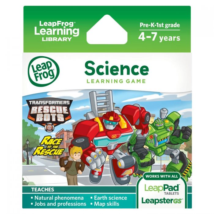 Rescue Bots LeapFrog Game