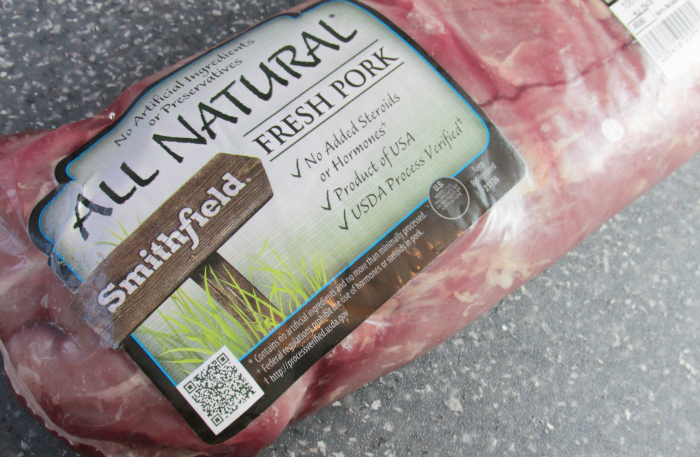 Smithfield All Natural Pork Tenderloin