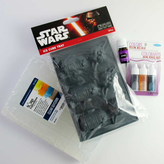 Star Wars Soap Supplies