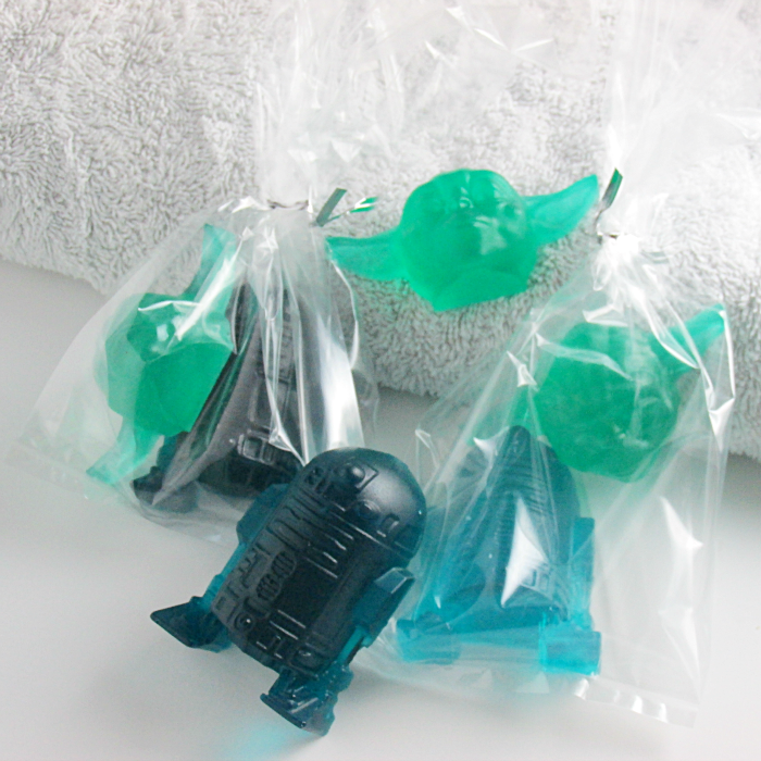 Star Wars Soaps in favor bags