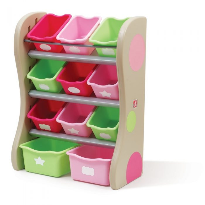 Step2 Fun Time Room Organizer Bins Pink