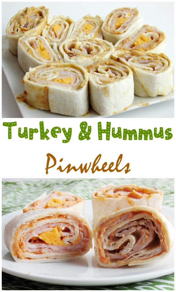 Turkey & Hummus Pinwheels