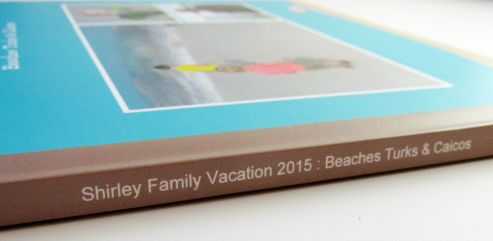 Vacation Book from Shutterfly