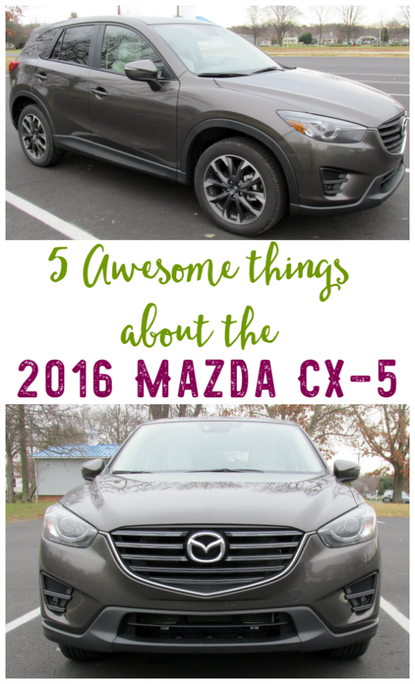 Awesome Things About 2016 Mazda CX-5 - We're sharing some of our favorite features of the 2016 Mazda CX-5 Grand Touring AWD.