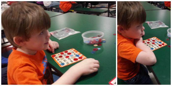 Bingo Night at School