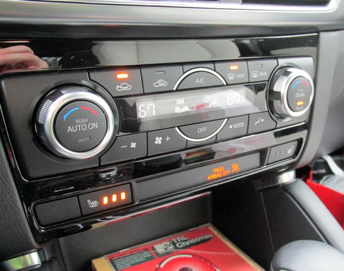 Center Controls 2016 Mazda CX-5