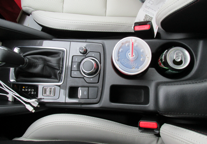 Center Controls in 2016 Mazda CX-5