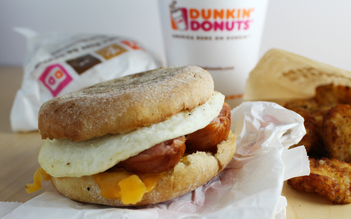 Dunkin' Donuts Breakfast Any Time