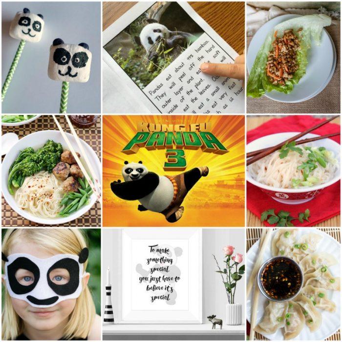 Kung Fu Panda 3 activities, recipes, crafts, and more!