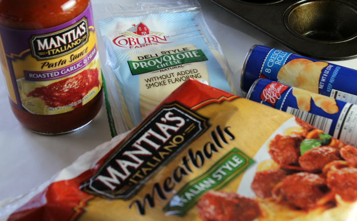 Meatball Sub Cups Ingredients