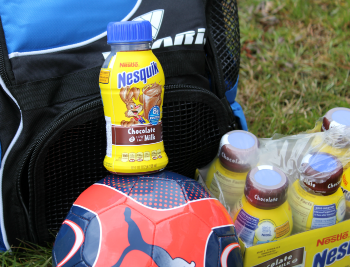 Soccer and Nesquik