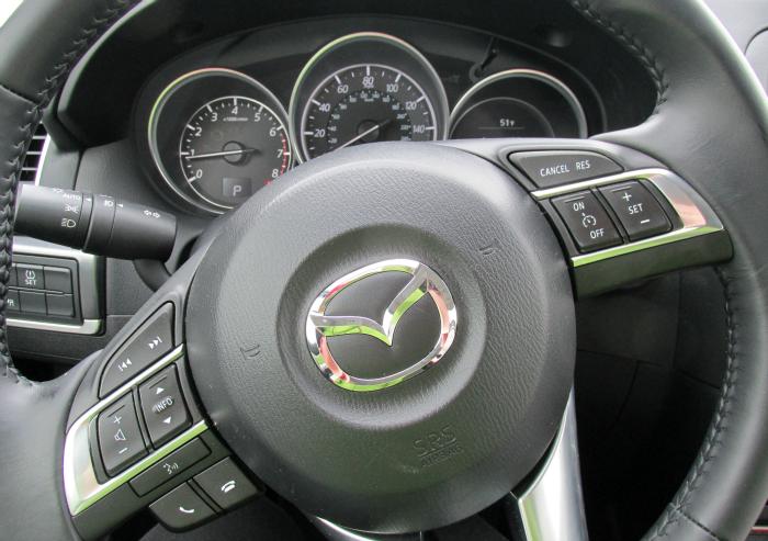 Steering wheel 2016 Mazda CX-5