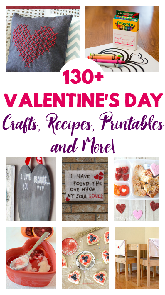 Ultimate Valentine's Day - We've put together the ultimate list of everything you need for Valentine's Day! Crafts, Recipes, printables, and more!