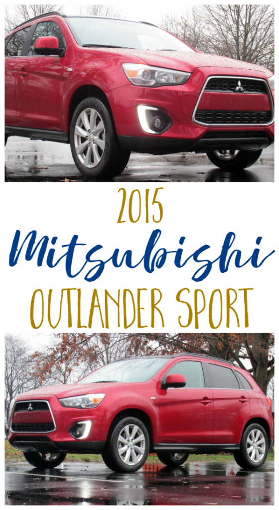 2015 Mitsubishi Outlander Sport - We drove the 2015 Mitsubishi Outlander Sport SE AWC for a week. See what we thought!