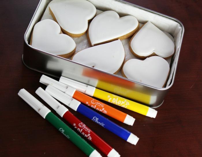 Eleni's Color Me Valentine's Cookies