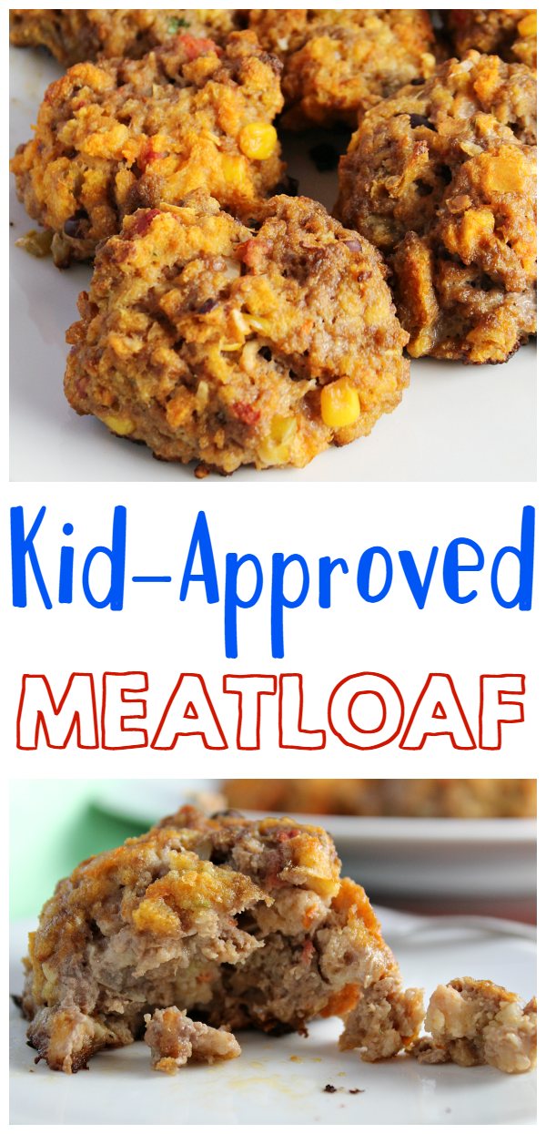 Kid-Approved Meatloaf! A classic dish that the kids will actually eat!