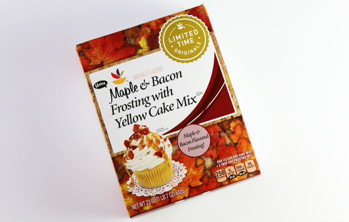 Limited Time Originals Map & Bacon Frosting and Cake Mix