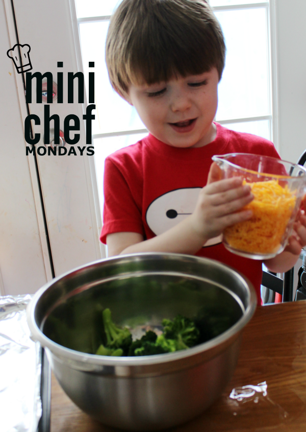 Mini Chef Mondays Broccoli Bites