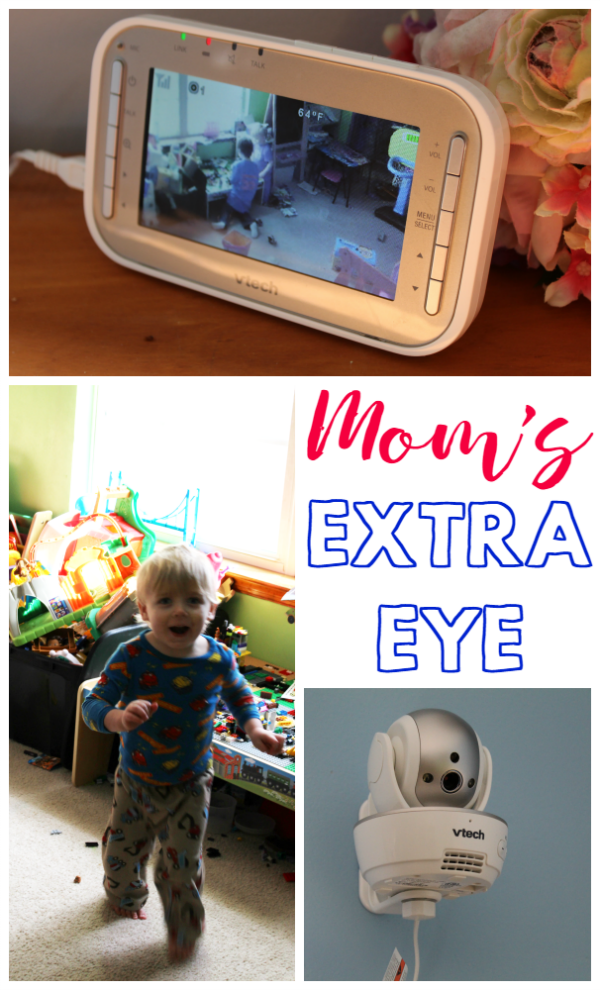 Mom's Extra Eye - Mom really can see EVERYTHING with the VTech VM343 video baby monitor!