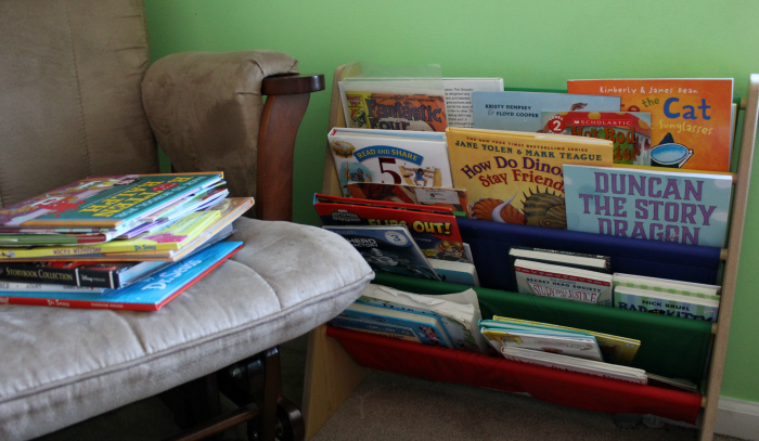 Reading Area in Kids Room