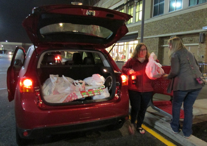 Shopping with Mitsubishi Outlander Sport
