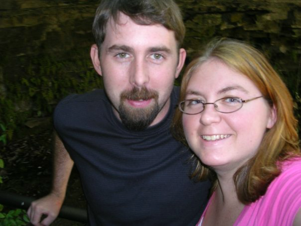 Tom and I visiting some Lincoln history in Kentucky in 2009.