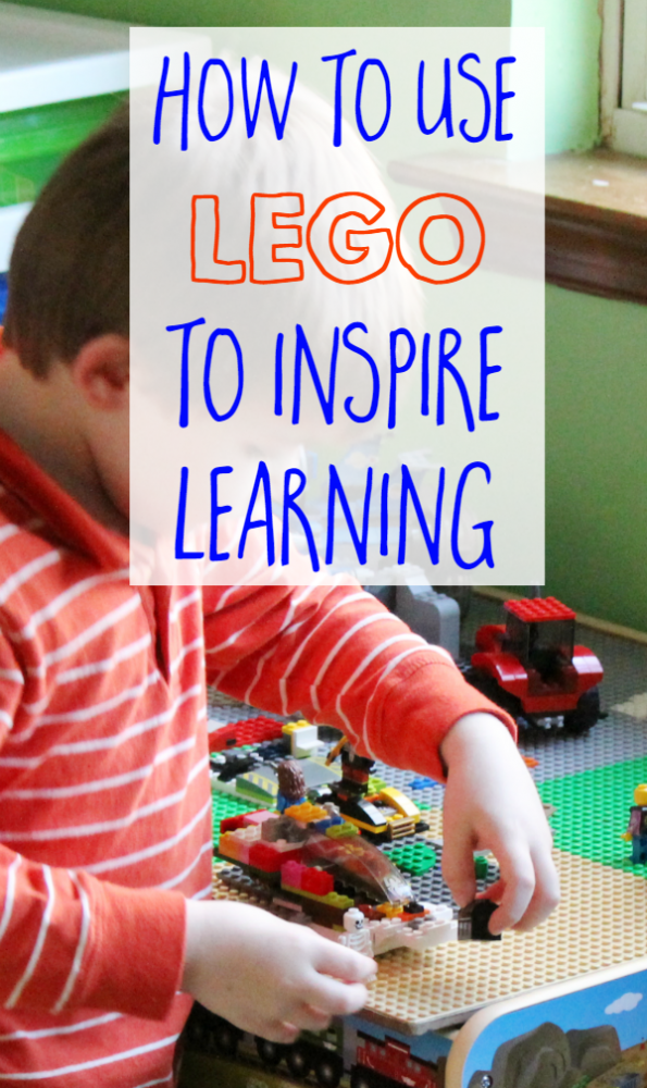 Use LEGO to Inspire Learning