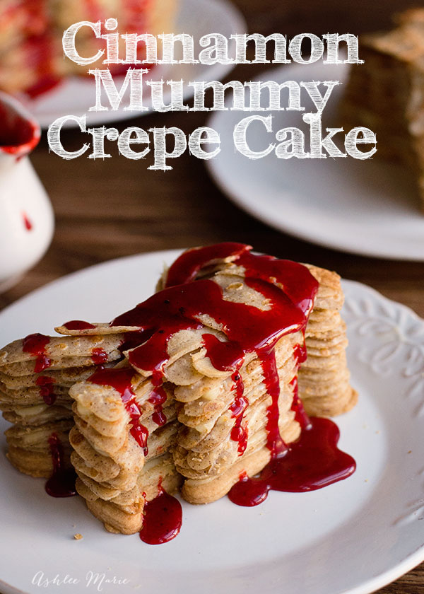 cinnamon mummy crepes