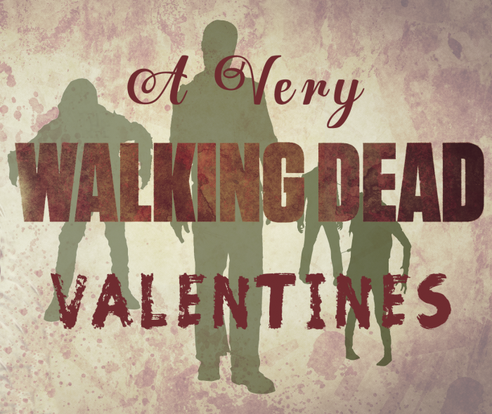 very walking dead valentines
