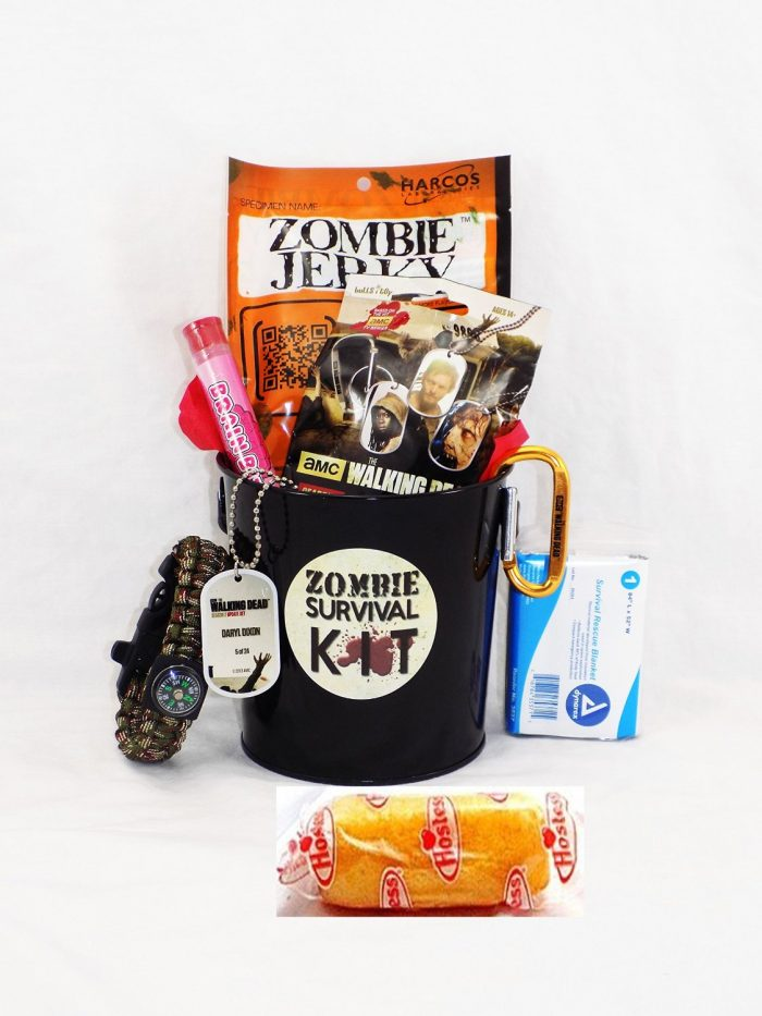 walking dead gift basket