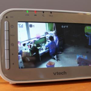 watching the boys - VTech VM343