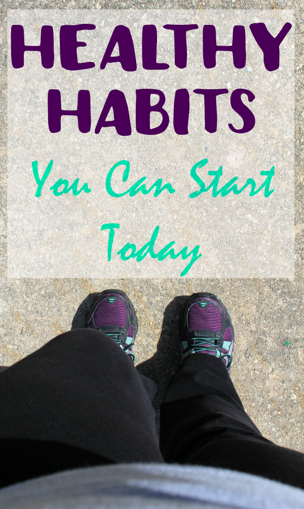 Getting healthy doesn't happen overnight, but there are so many healthy habits you can start today!