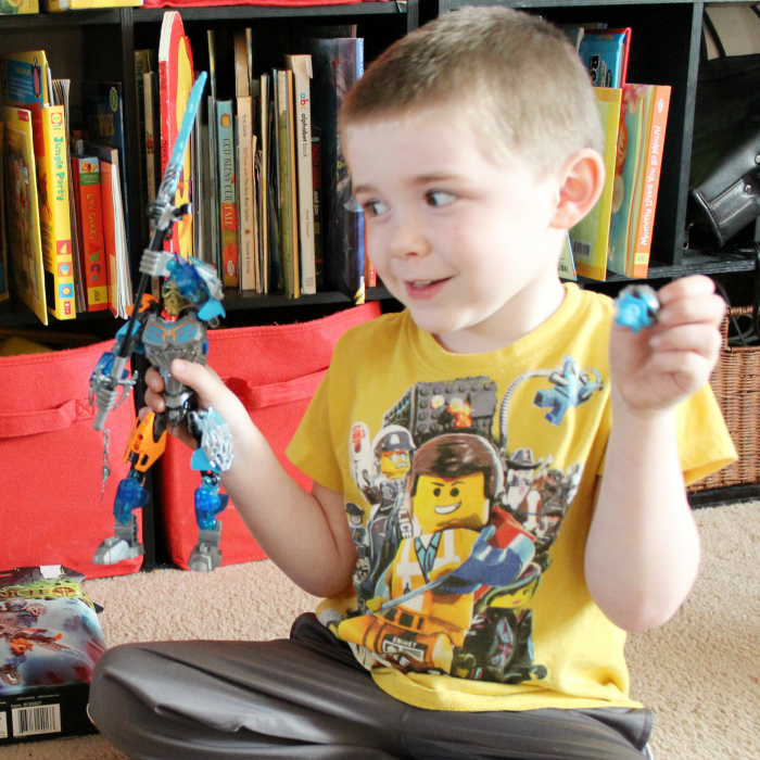LEGO Bionicle completed