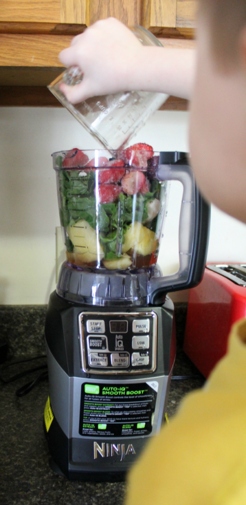 Making Smoothies with Nutri Ninja