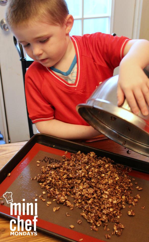 MiniChefMondays Tropical Chocolate Granola