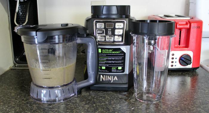 Nutri Ninja on counter
