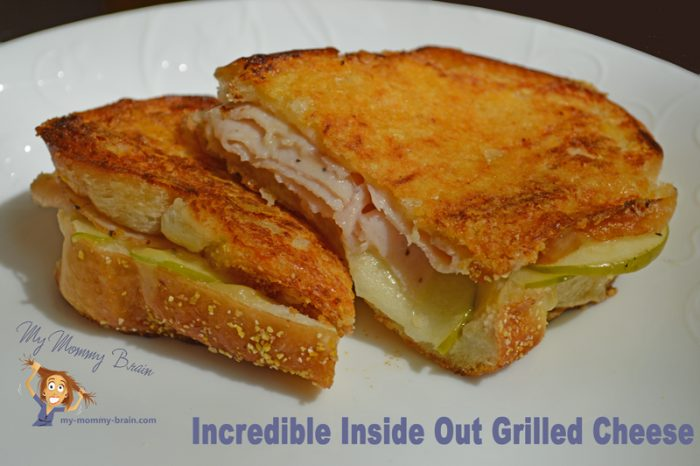 Inside Out Grilled Cheese!