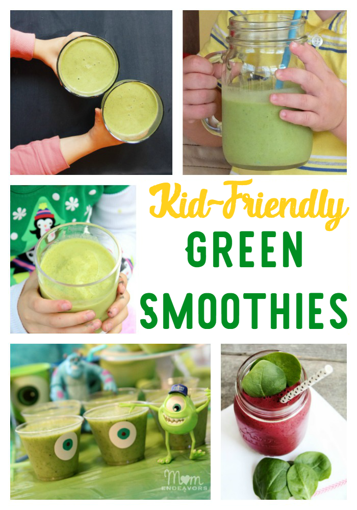 Kids love fun drinks, so why not make some green smoothies they'll enjoy? We're sharing kid-approved green smoothies!