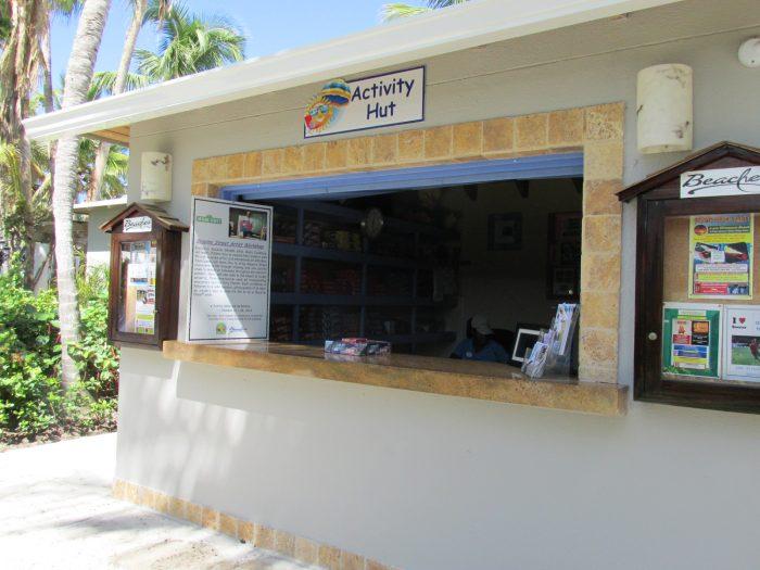 Activity Hut at Beaches