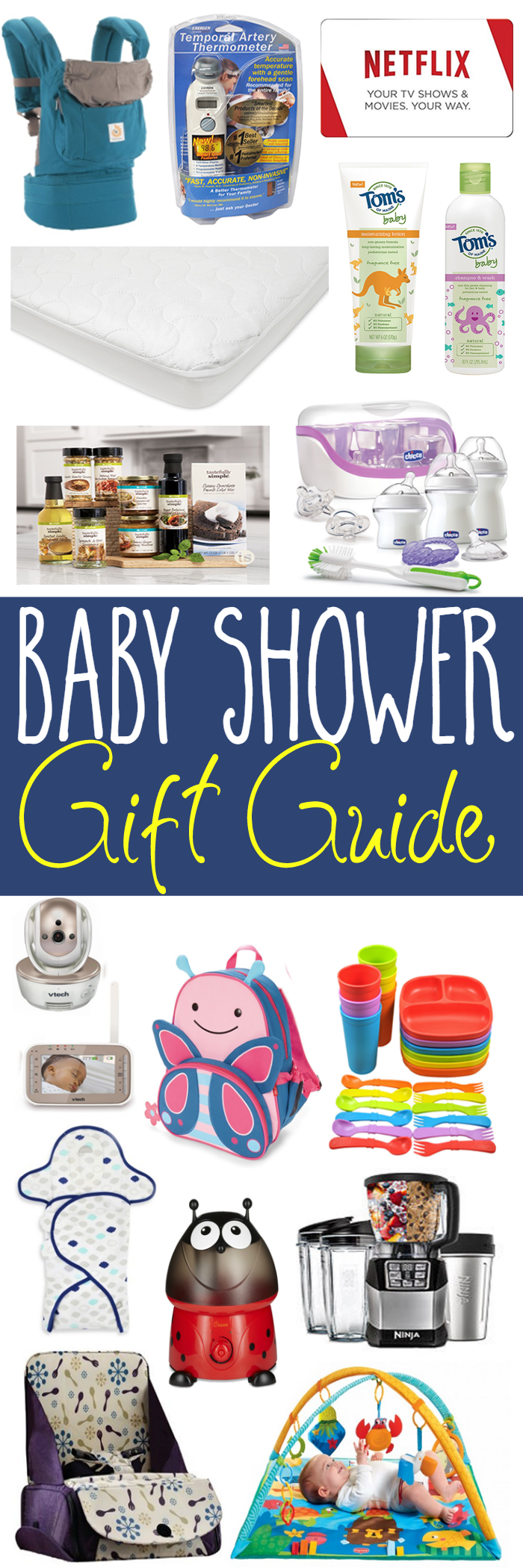 Baby Shower Gift Guide - Gifts that a new mom may not have registered for, but will absolutely love!