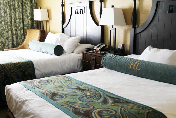 Hershey Lodge Double Queen Guest Room
