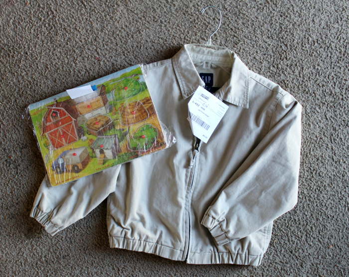 JBFLancaster Purchases Jacket and Puzzle