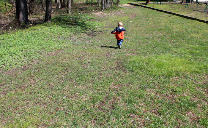 Owen running free